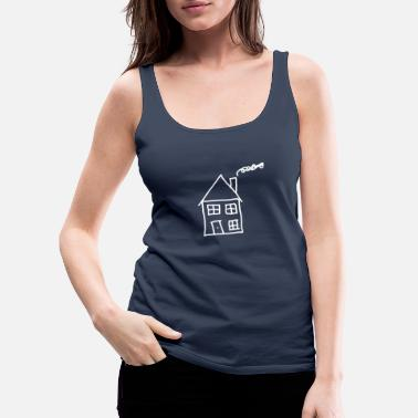 House House / House - Women's Premium Tank Top