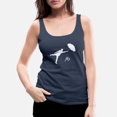 Fly fly / fly - Women's Premium Tank Top