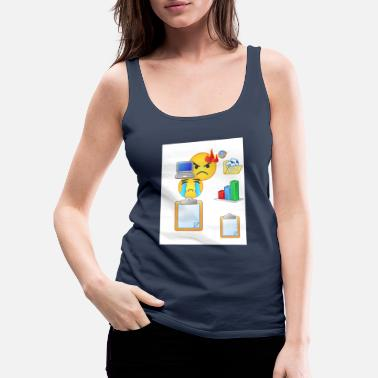 Icon icons - Frauen Premium Tanktop