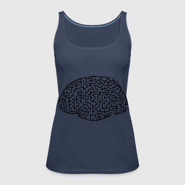 Brain labyrinth - Women's Premium Tank Top