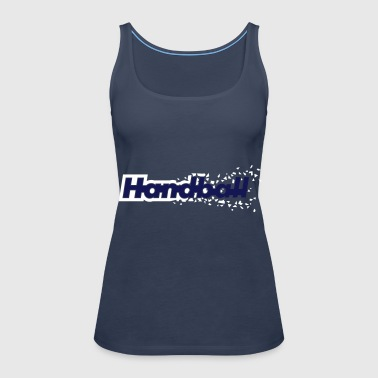 Handball - Premium singlet for kvinner