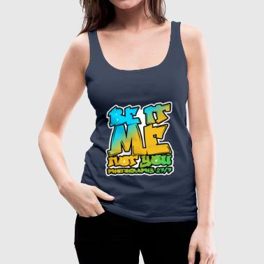 Hip-Hop Logo - Women's Premium Tank Top