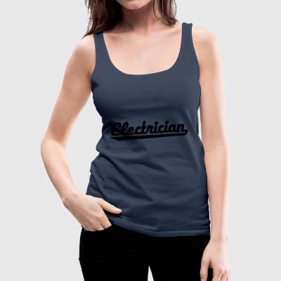 2541614 123127412 electrician - Frauen Premium Tank Top
