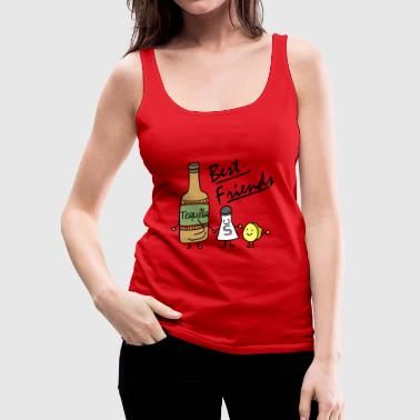 Tequilla friends - Frauen Premium Tank Top