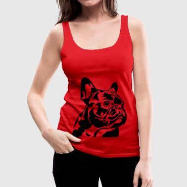 French Bulldog - Frauen Premium Tank Top