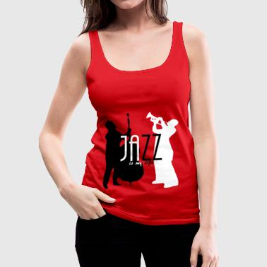 jazz is my life - Vrouwen Premium tank top