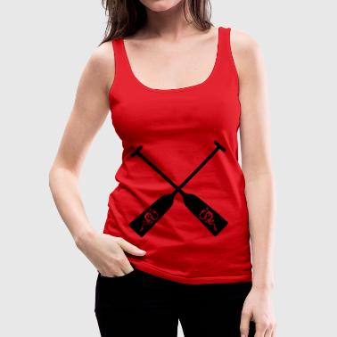 Dragon Boat Dragon Boat Paddle for all Dragon Boat Drivers - Women's Premium Tank Top