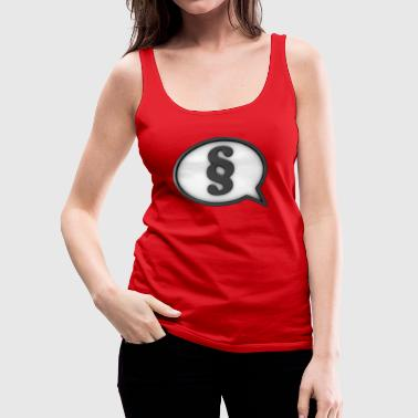 paragraph stallion - Women's Premium Tank Top