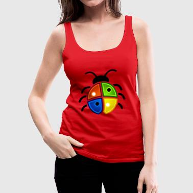 Windows Ladybug - Premium singlet for kvinner