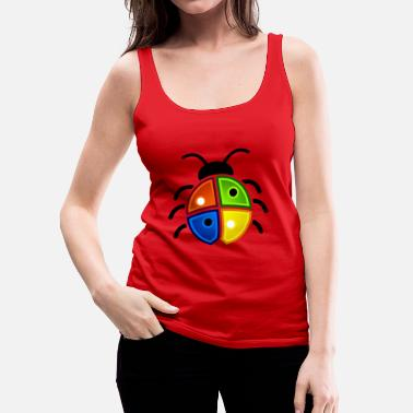 Windows Windows Ladybug - Premium singlet for kvinner