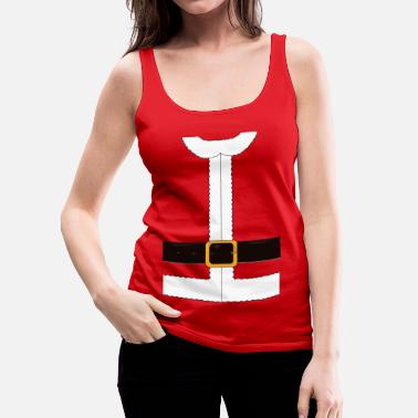 Christmas Funny Santa Claus / Christmas costume - Women's Premium Tank Top