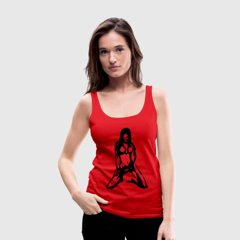 Sexy Girl No. 1 - Frauen Premium Tank Top