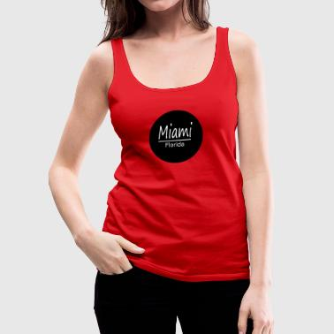 Miami - Frauen Premium Tank Top