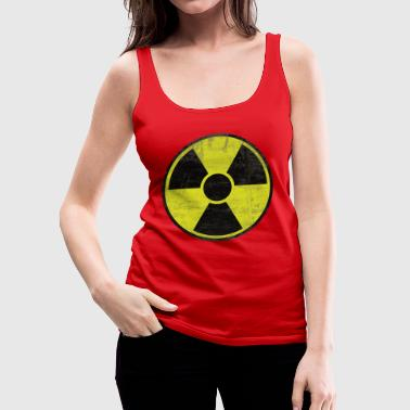 Distressed Radioactive Sign - Canotta premium da donna