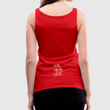 bike bike bike - Frauen Premium Tank Top