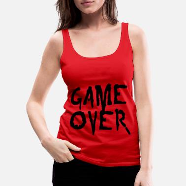 Game game over - Women's Premium Tank Top