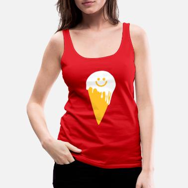 Bubbagom happy ice cream - Naisten premium tanktoppi