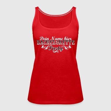 Personalisierbar Bachelorette Party WB - Women's Premium Tank Top