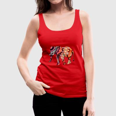 elephant - Women's Premium Tank Top