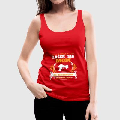 Laser Tag Mom Shirt Gift Idea - Women's Premium Tank Top
