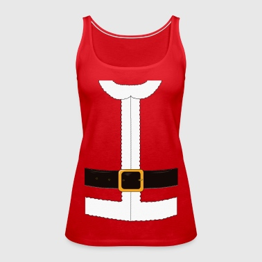 Funny Santa Claus / Christmas costume - Women's Premium Tank Top