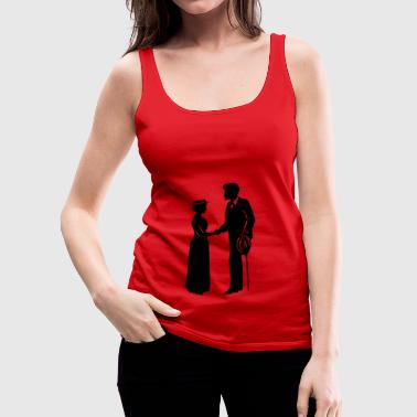 gentleman - Women's Premium Tank Top