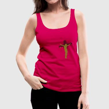 jesus am kreuz - Frauen Premium Tank Top