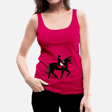 Dressage dressage - Women's Premium Tank Top