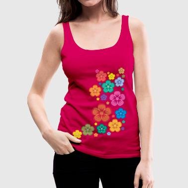 New Age Flower Power - Frauen Premium Tank Top