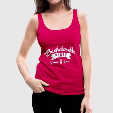 bachelorette party - Women's Premium Tank Top