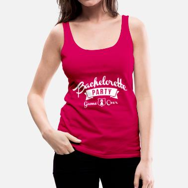 Bachelorette bachelorette party - Women's Premium Tank Top
