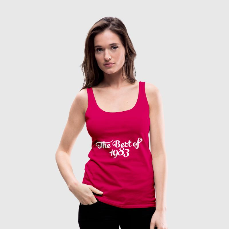 Geburtstag - Birthday - the best of 1983 (dk) - Dame Premium tanktop