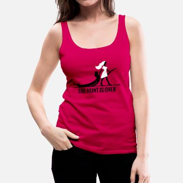 Jagd The hunt is over JGA Junggesellenabschied Party - Frauen Premium Tank Top
