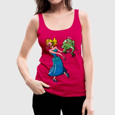 Disgusting Kiss for a Princess - Women's Premium Tank Top