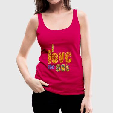 80´s - Frauen Premium Tank Top