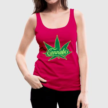 cannabis - Frauen Premium Tank Top