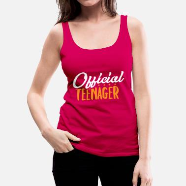 Teen Official Teen - Teens Teen Teen Gift - Women's Premium Tank Top