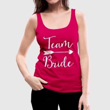 Team Bride Sugar Team Bride - Canotta premium da donna