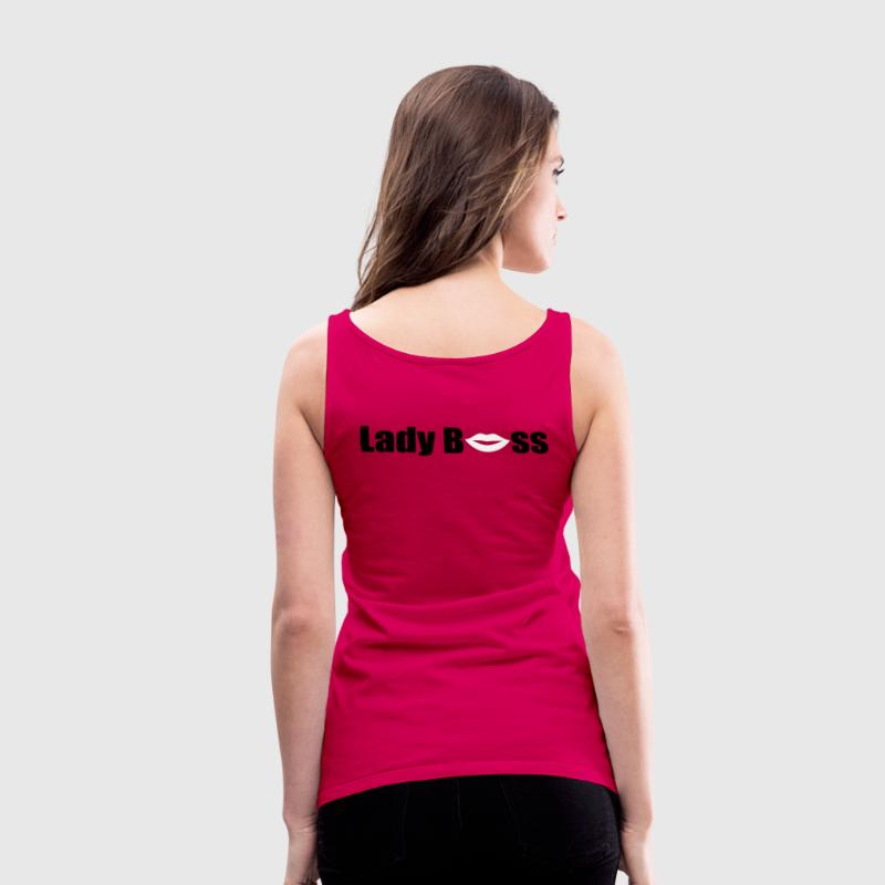 Lady Boss - Women's Premium Tank Top