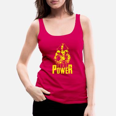 Woman Power Girl power woman power woman - Women's Premium Tank Top