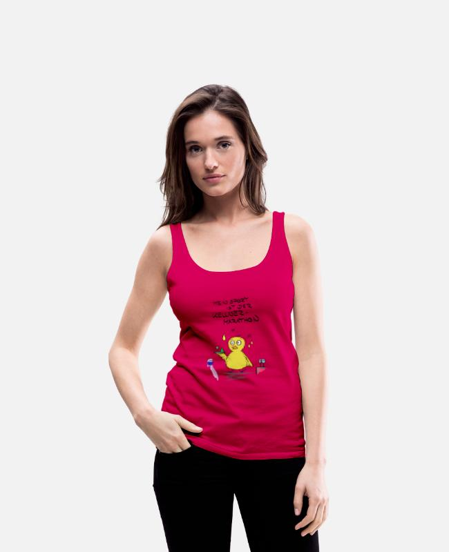Sport Tank Tops - duck - Women's Premium Tank Top dark pink