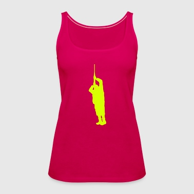 Gunman (Vector) - Women's Premium Tank Top