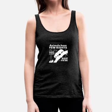 Animal Rights ANIMAL RIGHTS - Women's Premium Tank Top