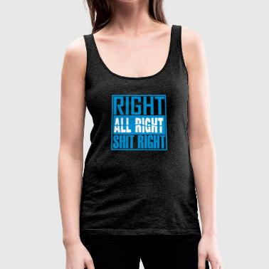 right - Women's Premium Tank Top