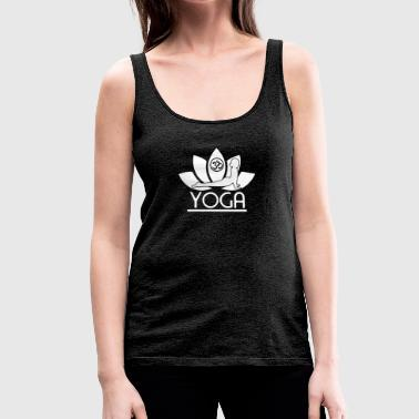 Yoga Lotus - Tank top damski Premium