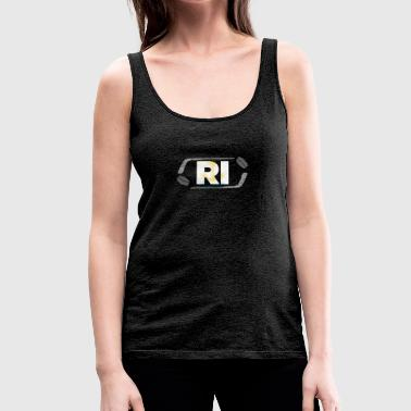 Hockey-Staat Rhode Island - Frauen Premium Tank Top