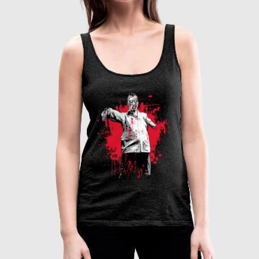 des zombies - Frauen Premium Tank Top