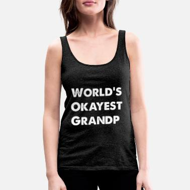 Herring World's okayest grandpa - Women's Premium Tank Top