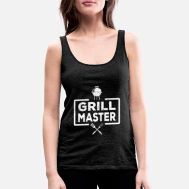 Grillen Grillmeister Grill Barbecue Grill Hobby Bier - Vrouwen premium tank top