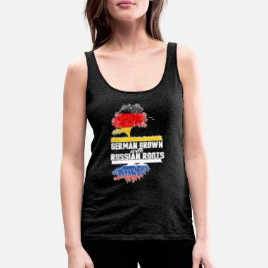 Expression Russian Roots Russian roots - Women's Premium Tank Top